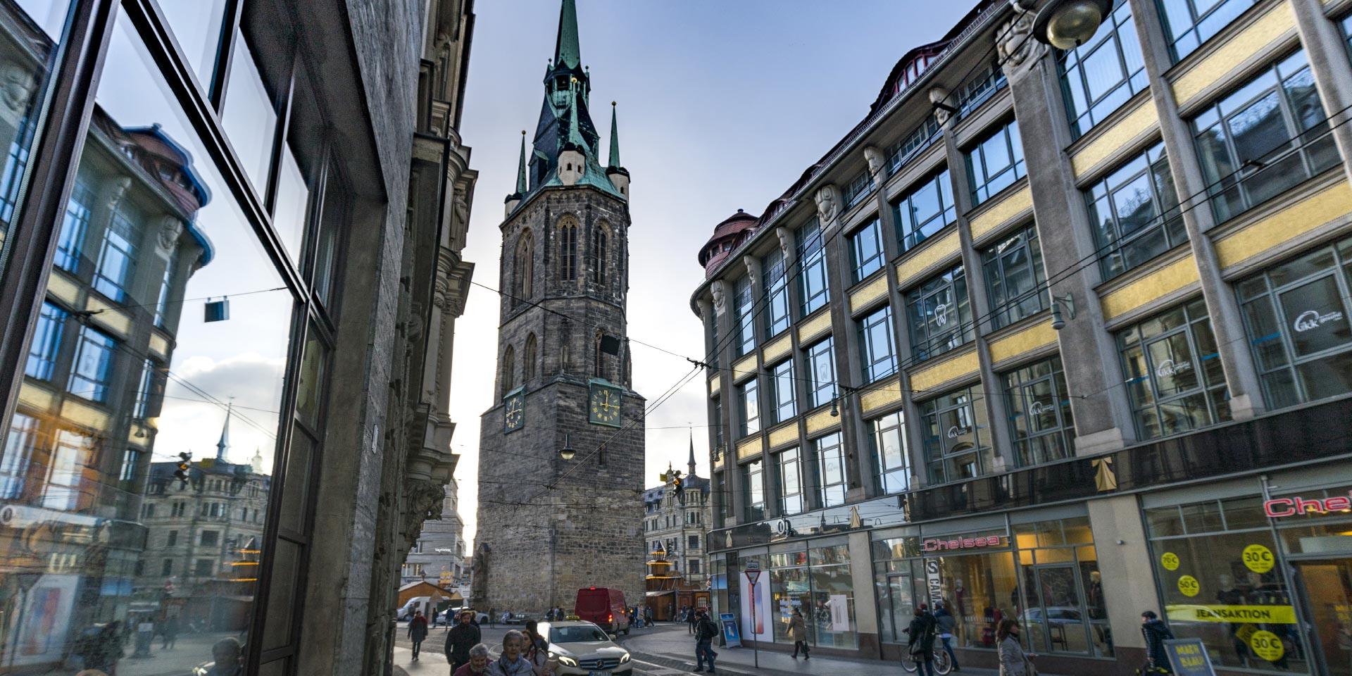 Halle Stadtzentrum